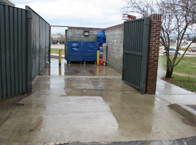 Atlanta Dumpster Pad Cleaning Services