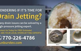 Drain Jetting