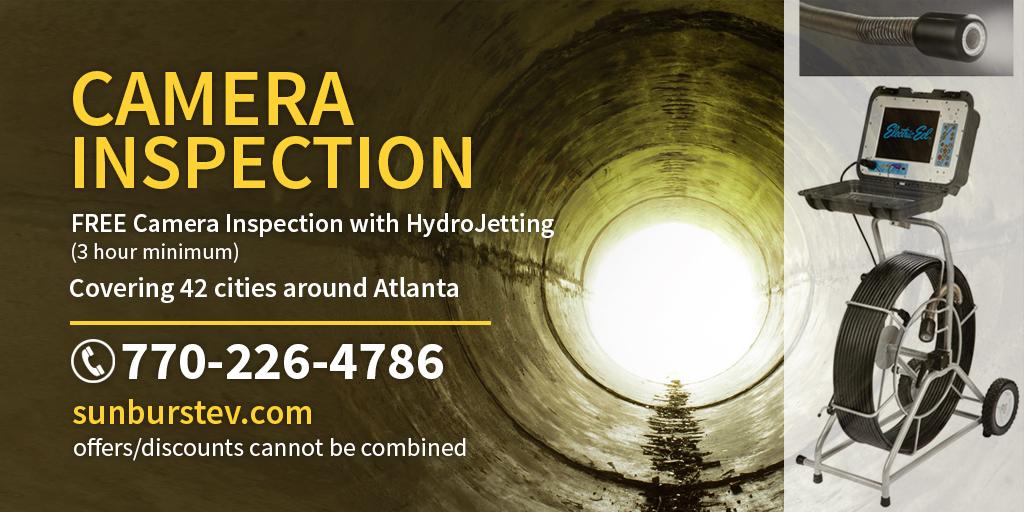 Free Pipe Camera Inspection - Sunburst Environmental